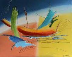 Resultado de imagem para pintura abstrata em tela com textura