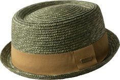 edd2ffafa16 Kangol Wheat Braided Pork Pie Fedora - Laurel M Fadora Hats