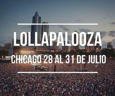 No te pierdas de este festival de música alternativa que es Lollapalooza. Tenemos boletería disponible para que vayas y disfrutes de la buena música. http://ift.tt/1VGJBvz #agenciadeviajes #agenciadeviajesvirtual #turismo #vacaciones #venta #dubai #venezuela #argentina #panama #argentina #uruguay #Paraguay #colombia #USA #españa #chicago #festivaldemusica #lollapalooza by monicapratotravel