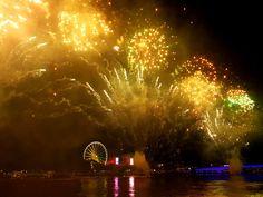 Brisbane qld Oz day fireworks 2019 Brisbane, Fireworks, Events, Concert, Day, Concerts
