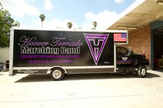 The Hoover Tornado Marching Band Truck - Glendale California