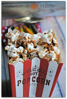 1390232384 pop corn au carambar Pop corn au Carambar
