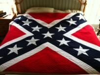 Confederate Flag Quilt Pattern, FREE shipping