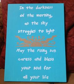 Bruce Springsteen Canvas Quote