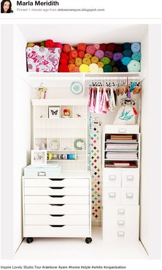 Lovely Craft Organization!