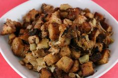 Slow Cooker Stuffing With Apple And Sausage Recipe can be used as one of your Thanksgiving side dish recipes or simply is one of the great slow cooker side dishes to add to your repertoire. Slow Cooker Apples, Best Slow Cooker, Crock Pot Slow Cooker, Crock Pot Cooking, Slow Cooker Recipes, Crockpot Recipes, Cooking Recipes, Crockpot Dishes, What's Cooking