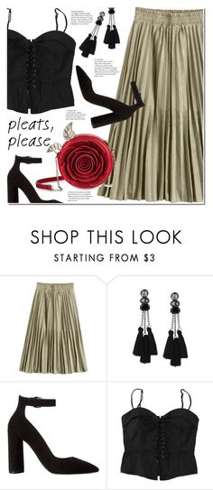 """Give Me Pleats, Please!"" by duma-duma ❤ liked on Polyvore featuring Kendall + Kylie and pleats"