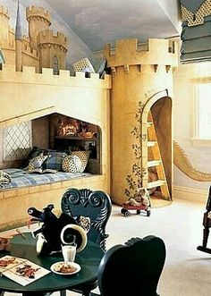 Childrens Loft Bed..