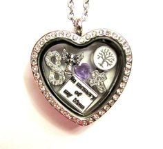 In Memory of My Mom Stainless Heart Floating by LoveStoryCharms, $39.99  Love Story Charms Lockets are a great way to honor a loved one that has passed in your life. It also makes a very touching gift that will be cherished forever and always.  This locket includes a In Memory Of My Mom Charm, Angel, infinity charm, Rhinestone Cross, Family Tree, and Birthstone.( options listed)