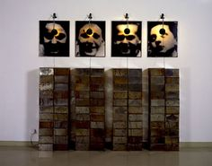 Christian Boltanski Altar to the Chases High School (Autel Chases), 1987 Chase High School, Louise Nevelson, Everything Is Illuminated, Christian Pictures, Gelatin Silver Print, Jasper Johns, School Photography, Land Art, French Artists