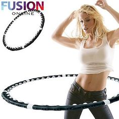 Hula hoop hoola magnetic fitness #exercise #massage weighted #dance ab workout gy,  View more on the LINK: http://www.zeppy.io/product/gb/2/172044726736/