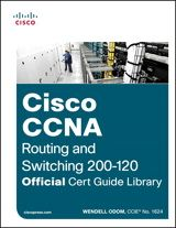 Cisco CCNA Routing and Switching 200-120 Official Cert Guide Library http://www.ciscopress.com/store/cisco-ccna-routing-and-switching-200-120-official-cert-9781587143878