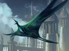 Cloudfin Raptor by PeteMohrbacher.deviantart.com on @deviantART