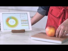 Prep Pad Smart Food Scale ~ Prep Pad is a weighing scale that, together with an iPad app, tells you the nutritional values of food that you put on it. You can create or get advice on nutritional goals, save combinations of food and more. Works with iPad 3 and up.