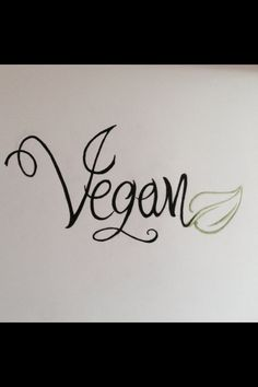 New vegan tattoo idea...maybe on the foot