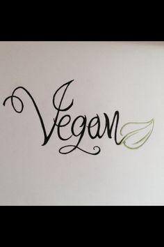 New vegan tattoo idea...maybe on the foot