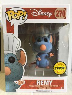 Funko POP! Disney Ratatouille REMY 270 Flocked Limited Edition CHASE Version | eBay
