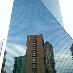 Towering with other #UptownDallas Skyscrapers - Fountain Place at 1445 Ross Ave #DallasSkyline 5.2015