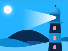 Lighthouse by Murat Gursoy - Dribbble