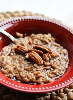 Cinnamon Roll Spice Oatmeal - bet you I could make this 21 day fix approved easily!