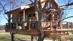 Treehouse masters ranch house. Now I really want a treehouse to live in.