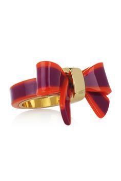Original anillo de Marc by Marc Jacobs. ¡Dan ganas de comérselo! Pero no, no es una golosina.