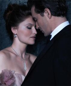 Lee Pace in Tiffany & Co. winter 2011 ad campaign with Laetitia Casta.