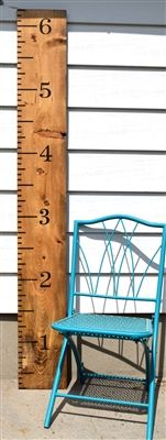 Giant Ruler Growth Chart Style Stencil Product Code 2095 from Scrappin' Along Craft Stencils #stencil #handpainted #scrappinalong