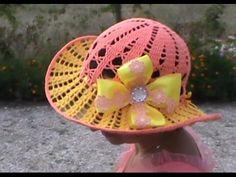 Очень красивая летняя шляпка, Часть 1. Very nice summer hat, Part 1 - YouTube