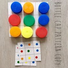 three wins color mapping You are in the right place about Montessori schule Here we offer you the most beautiful pictures about the Montessori activities you are looking for. When you examine the thre Toddler Learning Activities, Montessori Activities, Color Activities, Preschool Learning, Infant Activities, Kindergarten Math, Montessori Elementary, Cognitive Activities, Free Preschool