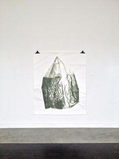 Robert Zandvliet | untitled, 2013 | bistre on paper | 180 x 152 cm | Courtesy Galerie Onrust