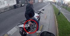 Man On A Cycling Tour Gets Robbed At Gunpoint And It's All Caught On Tape. - thewtfbible.com/...
