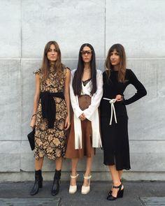 Giorgia Tordini, Gilda Ambrosio and Patricia Manfield