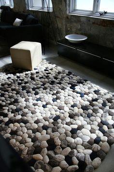 2Form - Pebble, modern, design, rug, carpet, innovation, interior