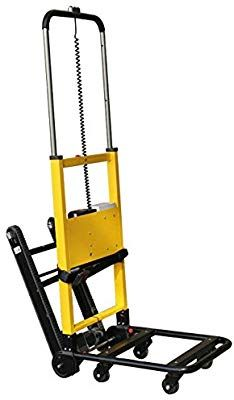Amazon Com Electric Dolly Trolley Handtruck Stair Climber Motorized Heavy Duty Hand Truck Cart Office Products Stair Climber Hand Trucks Stair Climbers