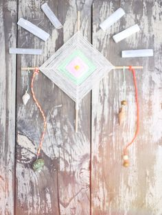 Today we wanted to share a tutorial for the beautiful God's eyes we made on our FP Me Camping trip! God's eyes, or Ojo de Dios, are spiritual weavings consisting of yarn and sticks, and making them is thought to be a meditative practice. Though their meanings vary from culture to culture, they are commonly