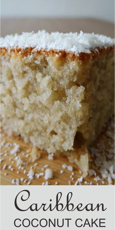 It's boiling hot here in Toronto and even though it's that time of the year when you don't want to bake, I was craving for a coconut cake. Coconut cake is one of my … Coconut Rum, Coconut Recipes, Baking Recipes, Cake Recipes, Dessert Recipes, Jamaican Coconut Cake Recipe, Haitian Cake Recipe, Coconut Cake Easy, Jamaican Rum Cake