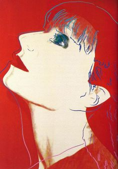 Andy Warhol: Portrait of Sonia Rykiel, 1986