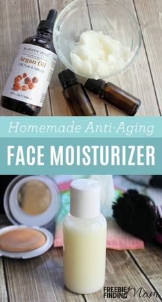 Forget those expensive anti-aging face moisturizers loaded with unnatural ingredients, give your skin a hearty dose of hydration and fight the signs of aging with this all natural Homemade Face Moisturizer. Homemade face moisturizer recipes like this are easy to make, inexpensive and effective. This DIY beauty recipe requires only four ingredients: coconut oil, Argan oil, and two essential oils (Frankincense and Geranium) that when combined create a powerful moisturizer with anti-aging…