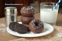 Chocolate Oreo Donuts