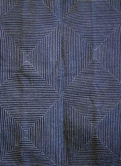sashiko stitching by bertha