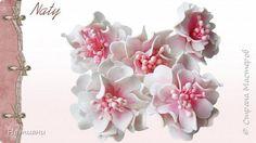 Цветы из Фоамирана Скрапбукинг фото 1