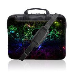 TaylorHe 15.6 inch 15 inch 16 inch Hard Wearing Nylon Laptop Carry Case Colourful Laptop Shoulder Bag with Patterns, Side Pockets Handles and Detachable Strap Electric Waves, Skull Fantasy by 15'6 inch TaylorHe Nylon Laptop Carry Cases, http://www.amazon.co.uk/dp/B00EZUWPTU/ref=cm_sw_r_pi_dp_hdOEsb1W995CD