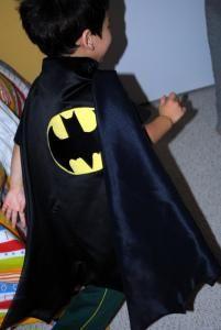 DIY Batman Cape Expectations DIY Halloween