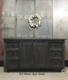 denver colorado industrial furniture modern. 3 Hearts Style Furniture Collections Denver, Colorado- Industrial Rolling Barndoor Sideboard Denver Colorado Modern I