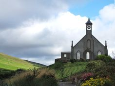 Church on the hill by =Heylormammy