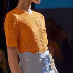 Details of #RITO SS17 fashion show 💙 #RITOofficial #RITOukraine #UFW #ukrainianfashionweek #ss17 #fashion #ss2017 #knitwear #madeinukraine #зробленовукраїні