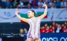 Yeon Jae Son (Korea) got 18.216 points for HOOP in all-around finals at Olympic Games 2016