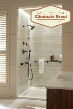 5 Strategies (including grout free shower wall panels ) to eliminate the hassles…