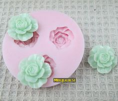 Flowers Flexible Silicone Mold Silicone Mould Candy by MoldHouse, $2.99